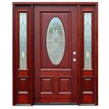 Portes extérieures haut valables en bois solide de fait main