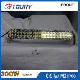 Barres tous terrains d'éclairage LED de la lumière 300W de travail de la barre DEL d'éclairage LED de CREE