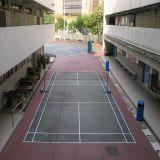 Vloer van het Hof van het Badminton van de schuring de Bestand Openlucht