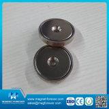 Magnete poco profondo del POT del forte della terra rara magnete rotondo di NdFeB