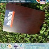 Покрытие порошка влияния высокого качества деревянное