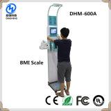 BMI Körperfett-Aufbau-Höhen-Gewicht-messende Maschine