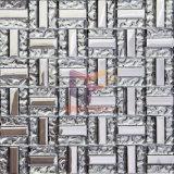 Carrelage en mosaïque en verre en cristal de titane Crystal 15 * 48mm (TC346)