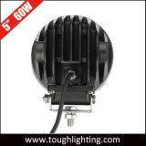 Indicatore luminoso combinato di guida di veicoli del punto rotondo LED di pollice 60W di CC 12V 5 di RoHS & del Ce