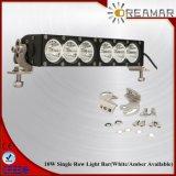 12inch 60W Flood barre lumineuse à LED simple rangée