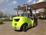 precio triple de la carretilla elevadora del motor diesel del mástil de los 6m