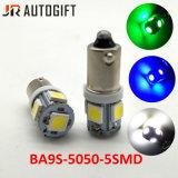 최고 후미 Ba9s 5050 5 SMD 신호 표시기 LED 램프