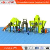 Оборудование спортивной площадки трубопровода предназначенных для многих игроков детей напольное