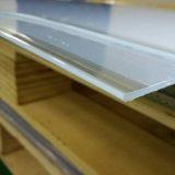 Folha de PVC transparente de espessura de 1,5mm para dobrar a frio