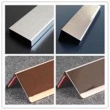 L'acier inoxydable Coverplates/protection de bord/cadre de Listello/des profils affilent directement/protections de bord