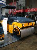 道路工事の機械装置6トンの完全な油圧二重ドラム振動の道ローラー(JM806H)