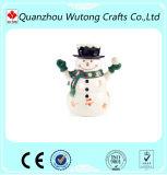 Sostenedor de vela de moda del oso del peluche del árbol de navidad del ornamento de la resina del diseño