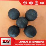 El alto cromo echó media de pulido que las bolas forjaron las bolas de acero para el molino de bola