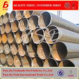 China Black Round Welded Steel Pipe Q235/195/345 Auf Lager