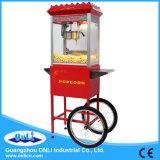 Do caramelo comercial elétrico antiquado automático da chaleira de 8 onças carro móvel da máquina da pipoca para o preço de venda