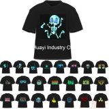 T-shirts d'Electro-Luminescence de palonnier du DJ