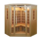 Zaal van de Sauna van Candian de Stevige Houten veel Infrarode met de Verwarmers van de Koolstof