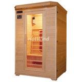 2 Tannen-Infrarotsauna-Kabine-hölzerner Sauna-Raum der Leute-Sek-B2