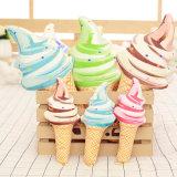 Ammortizzatore sveglio della peluche di figura del gelato per l'amica (35C0502)