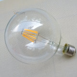 2017 neueste Heizfaden-Birne Entwurfedison-LED, Glühlampe LED-G125 4W 6W 8W Dimmable LED