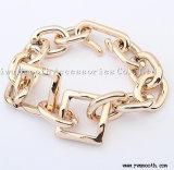 Vrouwelijke Juwelen van de Armband van de Gesp van de Ketting van de Keten van de Persoonlijkheid van de manier de Ruwe Gouden
