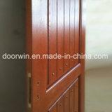 둥근 상단 디자인 구리 못을%s 가진 실내 단단한 개가시나무 목제 문