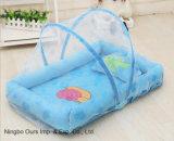 아기 제품은 임명 아기 모기장 Flannelette 갯솜 베개를 해방한다