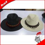 Chapéu de palha flexível de papel de Sun Panamá Sun da palha