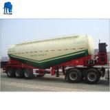 3 Essieu de ciment en vrac sec pétrolier de transport semi-remorque