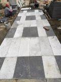 Venda Por Atacado Jardim / Driveway Pátio / Pavers / Pavimentação Fuding Black Flamed Black Basalt Tiles G684