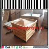 Banco di mostra di legno del forno dei dispositivi della memoria del supermercato