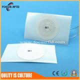 Marke des Geschäfts-RFID mit rückseitigem Aufkleber für Kennzeichen