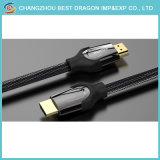 Uhdtv, PS4 의 Blueray 선수를 위한 HDMI 케이블에 2160p 2.0 고속 4K 3D HDMI