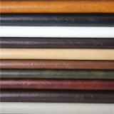 Grado superior caballo loco de cuero sintético de PVC para muebles tapizados