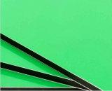 3 millimetri di PE che ricopre il comitato composito di alluminio di colore verde