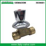 Китай высокого давления на заводе 16мм 2PCS санитарных Pex трубы латунные Pex шаровой клапан