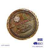 Customized Antique Souverni Bronze medalha de Nova Iorque para Dom turísticas (MC-020)