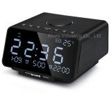 デスクトップの目覚し時計のドッキング端末のホテル装置