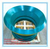 Peças do desgaste da recolocação do triturador do cone da placa do forro do triturador do cone