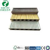 Тип Decking штрангя-прессовани PVC Co WPC с длинней гарантированностью