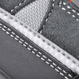 Zapatillas deportivas de cuero de piel de gamuza estilo deportivo L-7206
