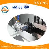 Torno de la máquina de la reparación del borde de la rueda de la aleación del corte del diamante de la pantalla táctil