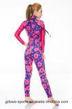 Muta umida di dimagramento elastica eccellente alla moda di stampa del neoprene per le donne