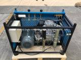 compresor de aire de respiración de alta presión portable del mecanismo impulsor eléctrico 300bar