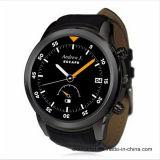 1.4 tarjeta elegante androide redonda del reloj SIM de los hombres del deporte del androide 4.4 del reloj X5 de la pulgada anti--WCDMA perdido WiFi Bluetooth 4.0