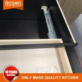 Erschwingliche festes Holz-weiße Farbanstrich-Küche-Schränke