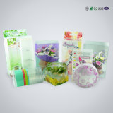제품 전시를 위한 명확한 PVC 물자 플라스틱 상자
