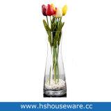 Vaso di vetro libero saltato bocca