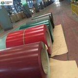 Bobina de acero cubierta color de PPGI de los materiales de la azotea del edificio