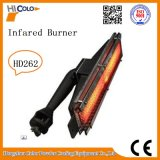 Placa de queimador de gás infravermelho de 10,9 Kw HD262 para forno de cura de gás / GLP